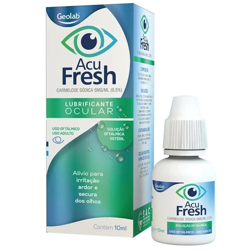 Colírio Acu Fresh Lubrificante Ocular 10ml
