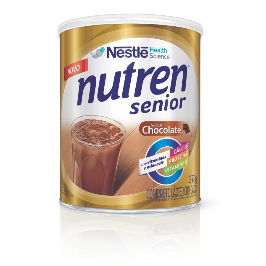 Nutren Sênior Sabor Chocolate Nestlé 370g