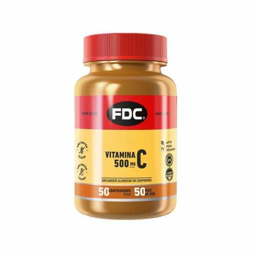 Vitamina C 500mg com 50 Comprimidos