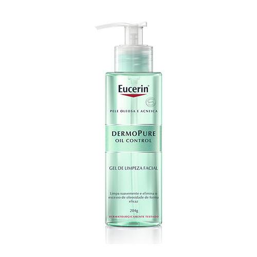 Eucerin Dermopure Gel de Limpeza Facial 204g