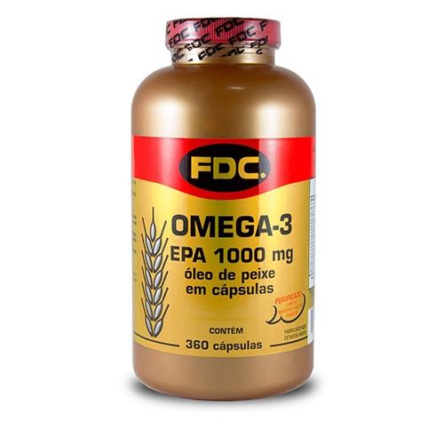 Ômega-3 100mg FDC 360 Cápsulas