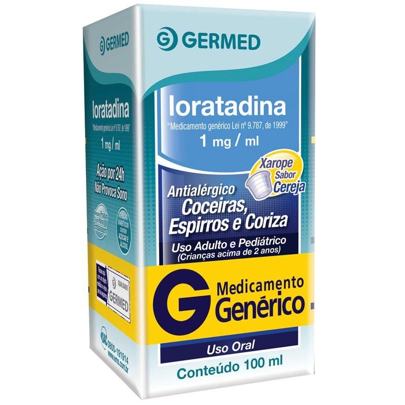 Loratadina Xarope Germed 100ml