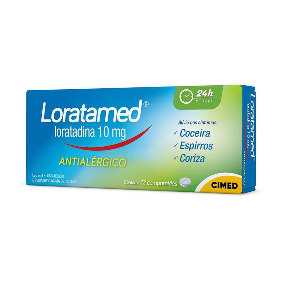 Loratamed 10mg 12 Comprimidos