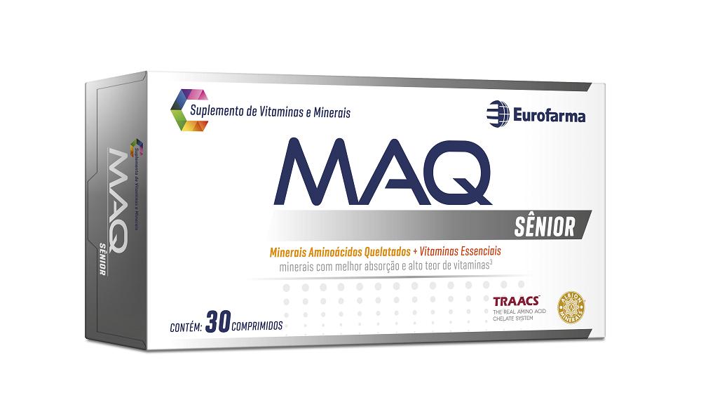 Maq Sênior Suplemento de Vitaminas e Minerais 30 Comprimidos