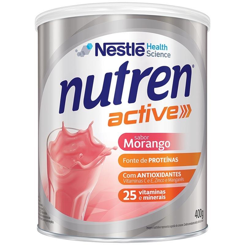 Nutren Active Morango Nestlé 400g