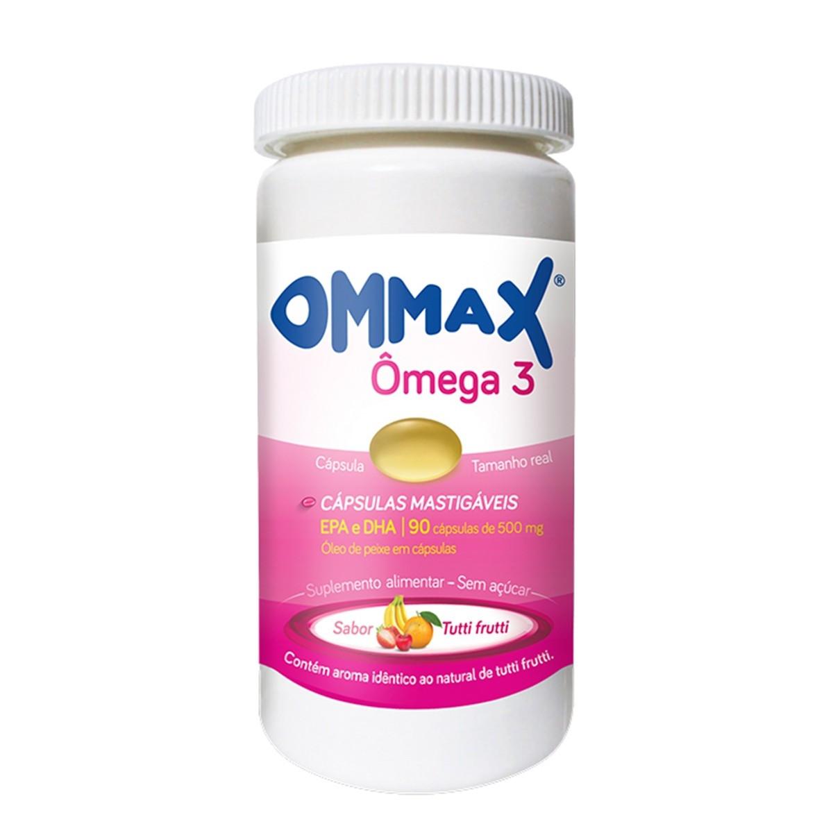 Ommax 90 Cápsulas