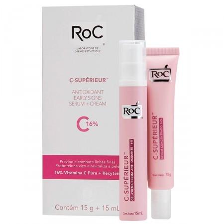 Sérum Concentrado C - Supérieur 16% 15g Roc 15ml