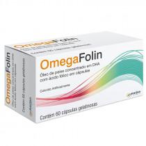 Omegafolin com 60 Cápsulas