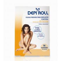 Folhas depilatorias Dep roll corporal tradicional