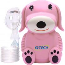 Inalador Nebulizador G-Tech Nebdog Rosa
