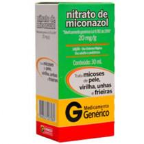 Nitrato de Miconazol Locao Cremosa 30g
