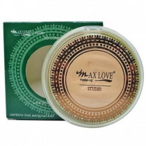 Pó Compacto Matte Vegano Cor 46 Max Love 11g