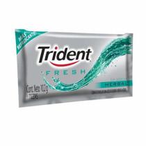 Chiclete Trident herbal fresh