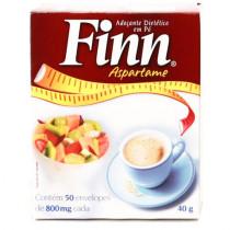 Adocante Finn Aspartame em Po - 50 saches