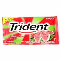 Chiclete Trident melancia