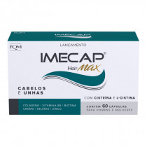 Imecap Hair Max com 60 Cápsulas