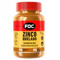 Zinco Quelado FDC com 90 Cápsulas