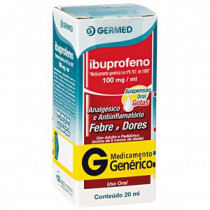 Ibuprofeno 100mg com 20ml