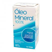 Óleo Mineral 100% com 100ml