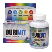 Suplemento Vitamínico Mineral Ourivit Multi 60 Cápsulas