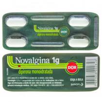 Analgésico Novalgina 1g 4 Comprimidos Efervescentes
