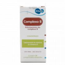 COMPLEXO B COM 20 COMPRIMIDOS REVESTIDOS - EMS