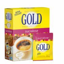 ADOCANTE GOLD SUCRALOSE COM 50 ENVELOPES DE 600MG