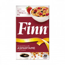 Adocante Finn Aspartame 100 envelopes 800mg cada