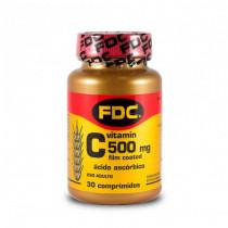 FDC Vitamina C 500mg - 30 comprimidos