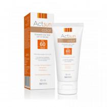 Protetor Solar Facial Actsun FPS 60 Com Cor com 60ml