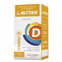 Lavitan Vitamina D Limão em Gotas 10ml