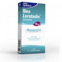 Neo Loratadin 10mg - 12 comprimidos