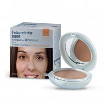 Fotoprotector Isdin Compact SPF 50+ Bronze 10g