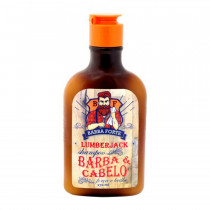 Shampoo Lumberjack Barba e Cabelo 170ml