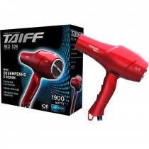 Secador Taiff Red Ion 1900w - 220v