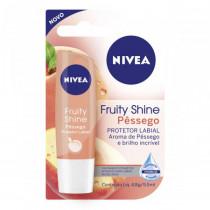 Protetor Labial Fruity Shine - Pessego - 48 gr