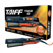 Chapa Taiff Titanium 450 Colors Bivolt Laranja