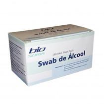 Álcool Swab Bio Soma com 100 unidades