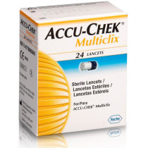 Lancetas Accu-Chek Multiclix 24 Unidades