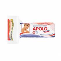 Algodao Apolo Quadrados Faciais com Ziplock 50g