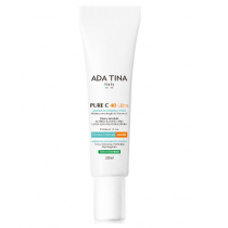 Ada Tina Pure C 40 Ultra Mousse Anti-Idade 30ml + Protetor FPS 60 Normalize 50ml