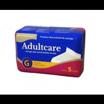 Adultcare Protetor Descartável De Colchão G contém 5