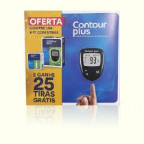 Kit Medidor de Glicose Contour Plus Bayer com 30 Tiras