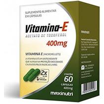 Vitamina E Maxinutri 400mg com 60 Cápsulas