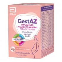 Gestaz Suplemento Vitamínico-Mineral 30 Comprimidos
