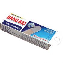 Curativo Band-Aid Transparente Com 10 Unidades