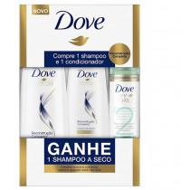 Kit Dove Reconstrução Completa - Ganhe Shampoo a Seco