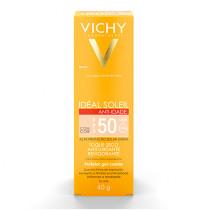 Vichy Idéal Soleil Anti-Idade FPS 50 Com Cor 40g