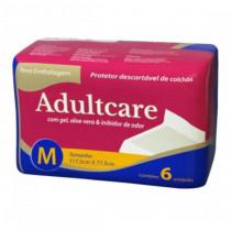 Adultcare Protetor Descartável De Colchão M contém 6