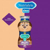 Nutrialyte 45 Zinco Suplemento Alimentar Sabor Uva 170ml